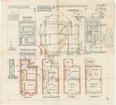 Avenue Jean Vanhaelen 35, Auderghem, élévations, coupe, plans, ACAud./Urb. 3618, 1932