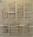 Rue du Mont Saint-Alban 8, Bruxelles Laeken, élévations, coupe, plans, AVB/TP 44507, 1933