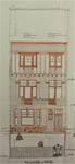 Rue Stuyvenbergh 40, Bruxelles Laeken, élévation principale, projet définitif, AVB/TP 37080, juin 1929