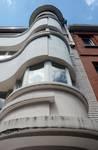 Avenue Marechal Joffre 36, Forest, détails façade (© ARCHistory/APEB, photo 2020)