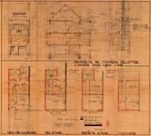 Avenue Coghen 24, Uccle, élévations, coupe, plans, ACU/Urb. 8690, 1935