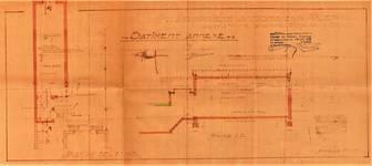 Avenue Coghen 30, Uccle, bâtiment annexe, plans, ACU/Urb. 8830, 1935