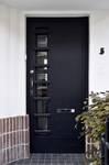 Rue de la Seconde Reine 5, Uccle, porte d'entrée (© ARCHistory/APEB, photo 2020)