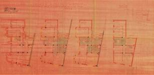 Rue Rouge 1, Uccle, plans, ACU/Urb. 9882, 1936