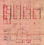 Avenue des Cerisiers 117, Woluwe-Saint-Lambert, élévations, coupe, plans, ACWSL/Urb. 4079, 1933