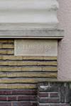 Avenue du Hockey 45, Woluwe-Saint-Pierre, signature (© ARCHistory/APEB, photo 2020)