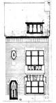 Rue Guillaume Crock 22, Auderghem, élévation principale, ACAud./Urb. 3310, 1931