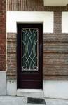 Rue Théodore Baron 24, Auderghem, porte d'entrée (© ARCHistory/APEB, photo 2020)
