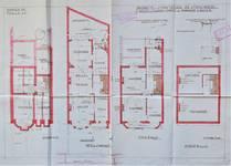 Rue Stuyvenbergh 40, Bruxelles Laeken, plans, projet définitif, AVB/TP 37080, juin 1929