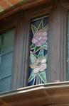 Rue des Augustines 101, Jette, vitraux (© ARCHistory/APEB, photo 2020)