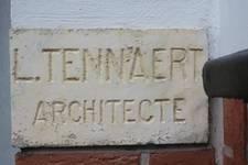 Rue Remy Soetens 6, Jette, signature (avec une erreur) (© ARCHistory/APEB, photo 2020)