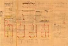 Avenue Coghen 26, Uccle, élévations, coupe, plans, ACU/Urb. 8680, 1934