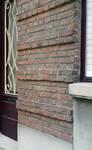 Rue Théodore Baron 24, Auderghem, appareillage des briques (© ARCHistory/APEB, photo 2020)