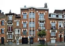 Rue Émile Delva 45 à 41, Bruxelles Laeken, élévations (© C. Dubois, photo 2019)