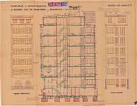 Rue de Praetere 26, Ixelles, élévations, coupe, ACI/Urb. 92/26, 1933
