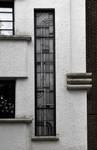 Avenue Coghen 68, Uccle, vitrail extérieur (ARCHistory/APEB, photo 2020)