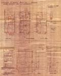 Avenue Gounod 38A, Anderlecht, élévations, coupe, plans, ACA/Urb. 26443, 1934