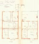 Rue Portaels 42-44, Schaerbeek, plans des étages, ACS/Urb. 216/42, 1926