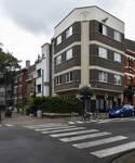 Avenue Coghen, Uccle, perspective du côté pair depuis le croisement avec l'avenue des Cottages (© ARCHistory/APEB, photo 2020)