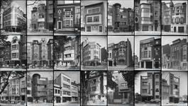 Ensemble de bâtiments de Louis Tenaerts photographiés par Willy Kessels. https://kessels.ideesculture.fr/